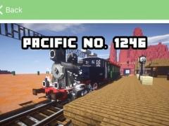TRAIN MOD - Trains Simulator Mods for Minecraft PC Pocket Guide Edition 1.0 Screenshot