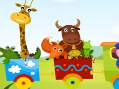 Train Ride: a Game to Learn and Play for Children with Animal-s and Funny Passengers! 1.0 Screenshot