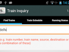 Review Screenshot - Finding Out Details About Indian Train Made Easy!