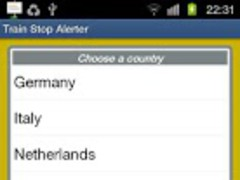 Train Stop Alerter 1.0 Screenshot