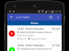 Train Times Ireland Pro 2.0.1 Screenshot