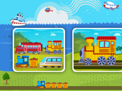 Trains Planes Puzzle for Kids 2.9 Screenshot