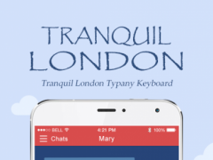 Tranquil London Typany Theme  Screenshot