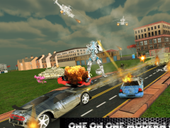 Transformer Robot Car Battle 1.0 Screenshot