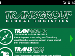 TransGroup Mobile 8.0.1 Screenshot