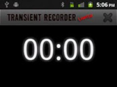 Transient Recorder LIMITED 1.0.2 Screenshot