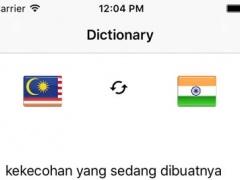 Translate Hindi to Malay dictionary - Free Download
