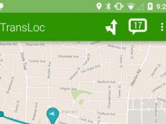 TransLoc Transit Visualization  Screenshot
