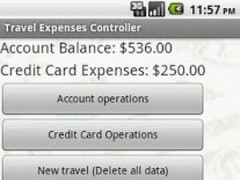 Travel Expenses Controller 1.0.1 Screenshot