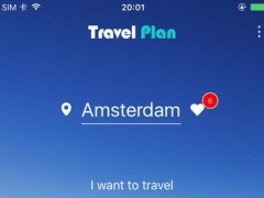 Travel plan - Trip Planner 1.0 Screenshot
