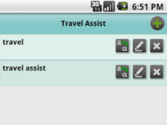 TravelAssist 1.0 Screenshot
