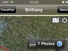 TravelPad: Travel Photo Album 2.1 Screenshot