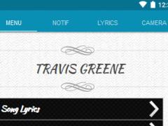 Travis Greene Lyrics 1.1 Screenshot