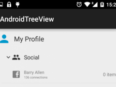 TreeView. Library Demo 1.2.4 Screenshot