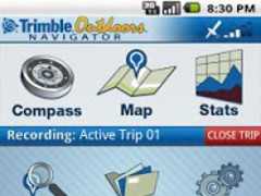 Trimble Outdoors Navigator Pro 5.4.10 Screenshot