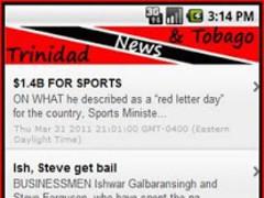 Trinidad and Tobago News 2 Screenshot