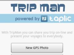 Trip Man - GPS journey diary 1.04 Screenshot