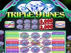triple 9 line diamond slot machine 1 0 free download