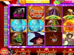 Triple Fire Casino Slots: Free Slot Of The Lucky Witch HD! 1.0 Screenshot