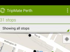 TripMate Perth Transit App 2.4 Screenshot
