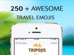 Tripojis : Travel Emojis & Stickers Keyboard 1.0 Screenshot