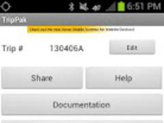 TripPak MOBILE 6.00.1 Screenshot