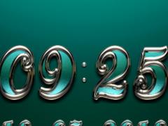 TRIQUA Digital Clock Widget 2.51 Screenshot
