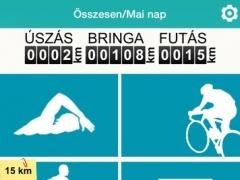 TriTime - A Te triatlon edzésnaplód 1.0.0 Screenshot