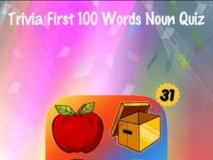 Trivia First 100 Noun Words Kid Fry Dolch Quiz 1.2 Screenshot