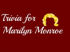 Trivia for Marilyn Monroe - American Actress Quiz 1.0 Screenshot