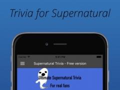 Trivia Quiz for Supernatural fans 1.1 Screenshot