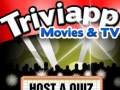 Triviapp Quiz Party * Movies & TV for iPad 1.0 Screenshot