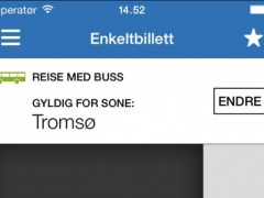 Troms Mobillett 4.3.3 Screenshot