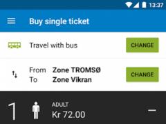 Troms Mobillett 5.1.0 Screenshot