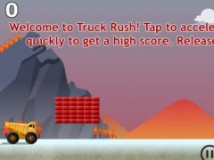 Truck Rush Free 1.0 Screenshot