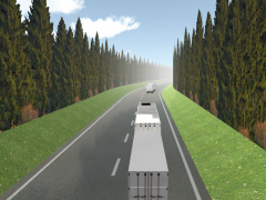 Truck With Trailer Simulator 1.0 Screenshot