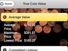 True Coin Value 1.5.0 Screenshot