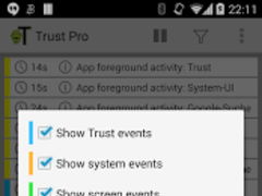 Trust - Event Logger 2.0.2 Screenshot