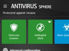 TrustPort Antivirus Sphere 2017.0.0.6026 Screenshot