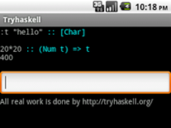Try Haskell 0.6 Screenshot