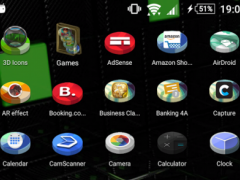 TSF Shell Theme 3D Icons 1 Screenshot