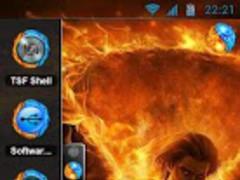 TSF Shell Theme Magic Flame 6.0 Screenshot