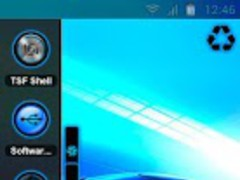 TSF Shell Theme Neon Dream 6.0 Screenshot