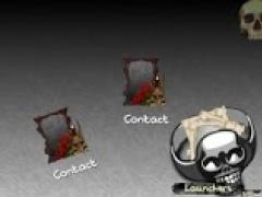 TSF Shell Theme THE SKULLS 1.2 Screenshot