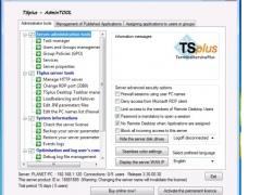 TSplus 2009 3.20.00.70 Screenshot