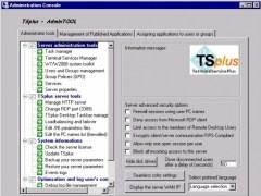 TSplus 2011 3.40.11.80 Screenshot
