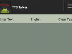 TTS Talker 1.0.4 Screenshot