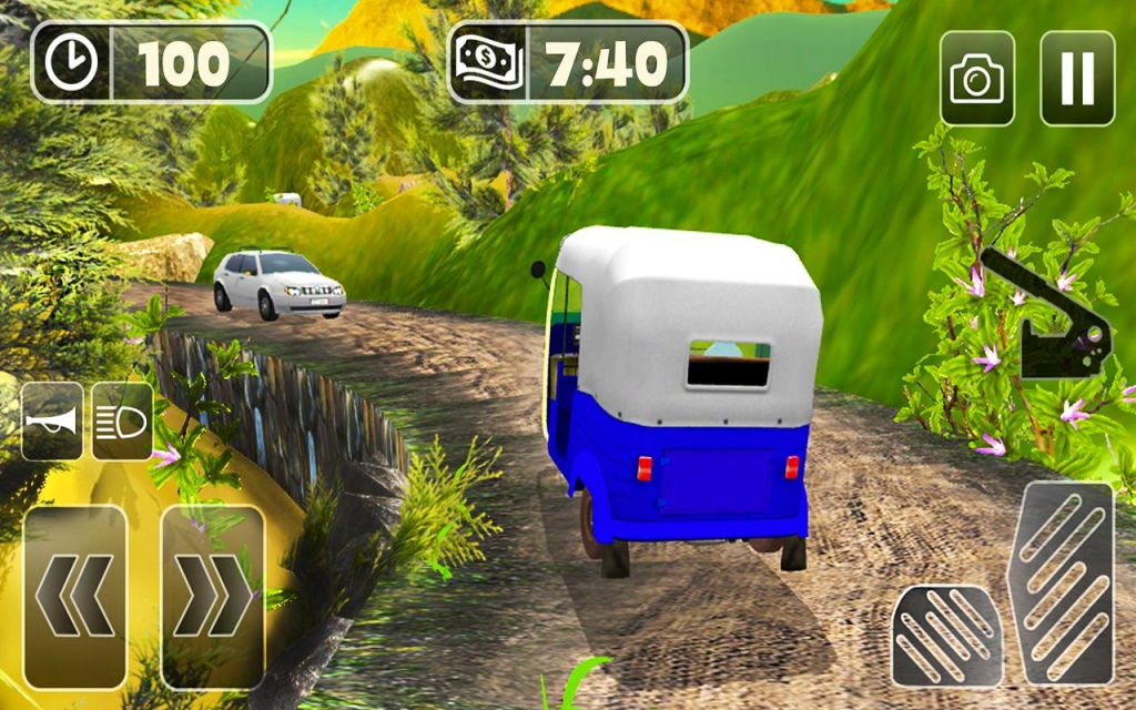 Auto rickshaw simulator game free download and install