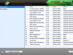 TuneClone Audio Converter for Mac 2.3.0 Screenshot