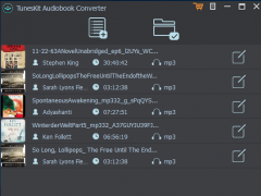 TunesKit Audiobook Converter for Windows 3.0.0 Screenshot